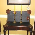 Pair of Beehive Brass Candlesticks