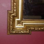 Pair of Gold Leaf Mirrors