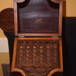 Pair of Inlaid Knife Boxes
