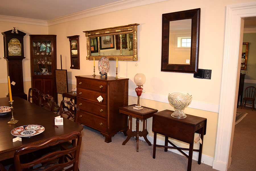 Pair of Marble Top Tables
