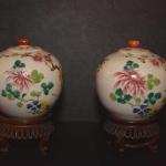 Pair of Miniature Ginger Jars