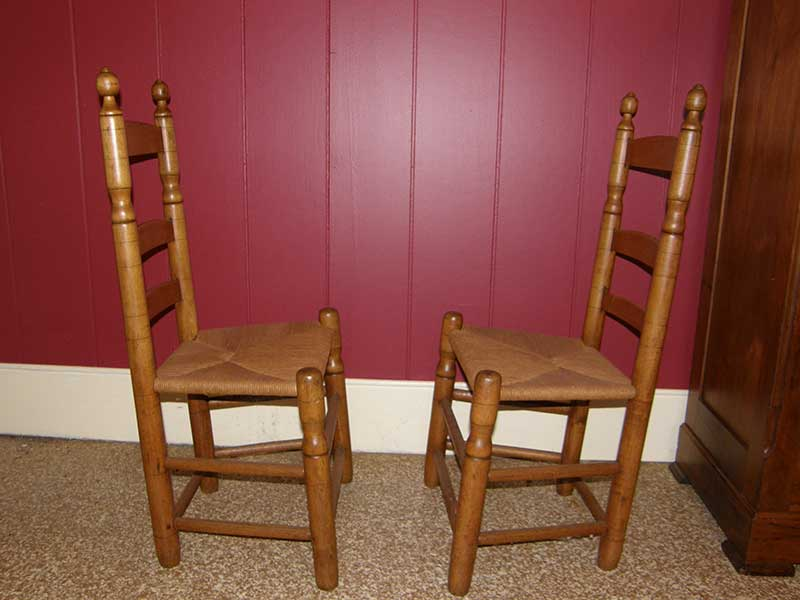 Pair Of North Carolina Chairs Gates Antiques Ltd Richmond Va