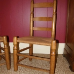 Pair of NC Ladder Back Chairs