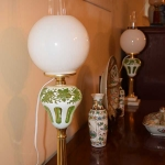 Pair of Overlaid Lamps