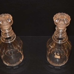 Pair of Prussian Decanters