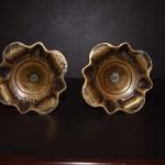 Pair of Queen Anne Candlesticks