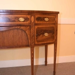 Petite Bow Front Sideboard