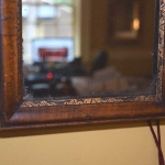 Petite Queen Anne Mirror