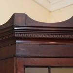 Petite Two Part Corner Cupboard