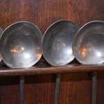 Pewter Rack with Spoons