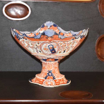 Pierced, Footed Imari Bowl