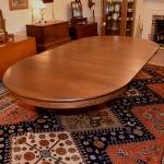 Quarter Sawn Oak Dining Room Table 460