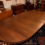 Quarter Sawn Oak Dining Room Table 461