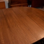 Quarter Sawn Oak Dining Room Table 463