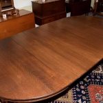 Quarter Sawn Oak Dining Room Table 476