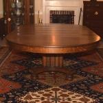 Quarter Sawn Oak Dining Room Table 477