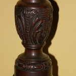 Queen Anne candle stands
