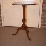 Queen Anne Maple Candlestand