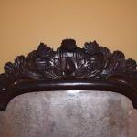 Queen Anne Mirror with Crest