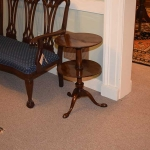 Queen Anne Tiered End Table