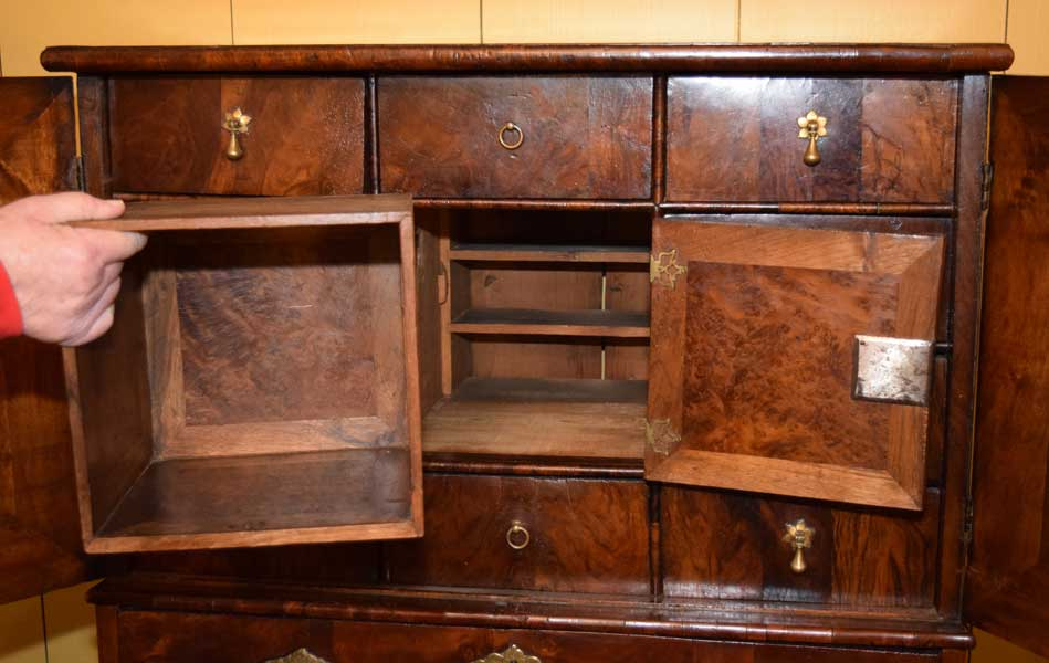 Queen Anne Valuables Cabinet