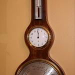 "Rare 10"" Wheel Barometer"
