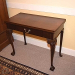 Rare Ball and Claw Card Table