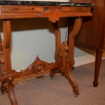 Rare Green Marble Top Table