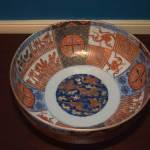 Rare Pair of Imari Bowls