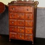 Rare Pine Spice Cabinet
