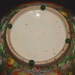 Rose Medallion Salad Bowl