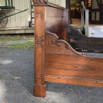 Rosewood Sleigh Bed