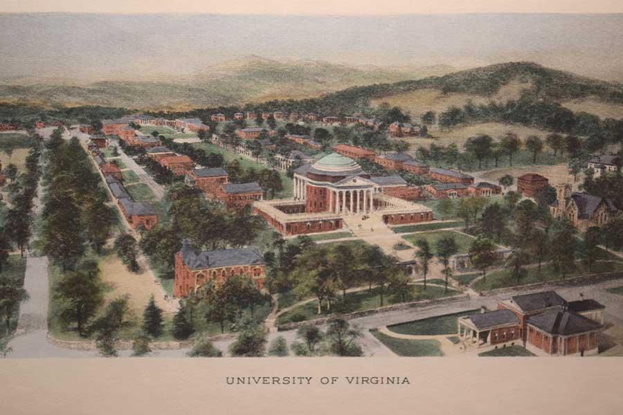 Rummell's Engraving of UVA