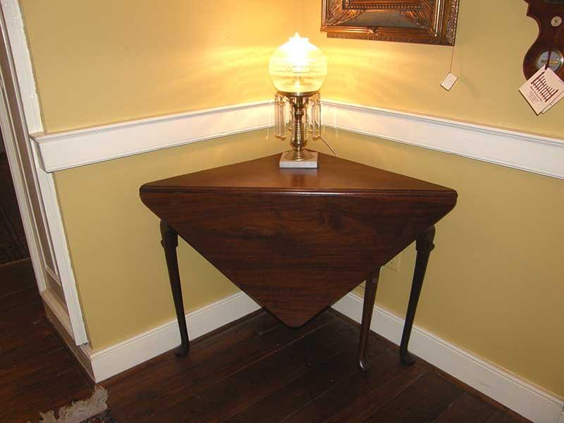Corner Handkerchief Table