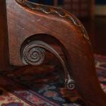 Scottish Tilt Top Table