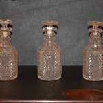 Set of 3 Decanters