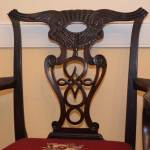 Set of 7 Chippendale Chairs