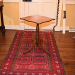 Shaped Top Tilt Top Table