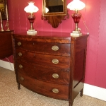 Sheraton Bow Front Chest