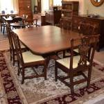 Single Pedestal Dining Table