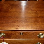 Small Walnut Chippendale Chest