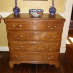 Solid Cherry Bachelor's Chest