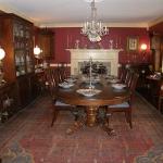Split Pedestal Dining Table