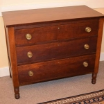 Three Drawer Cherry Chest