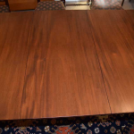 Three Pedestal Duncan Phyfe Dining Room Table