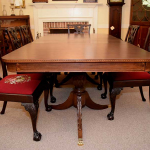 Two Pedestal Dining Table