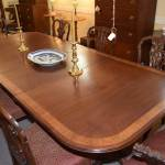 Two Pedestal Duncan Phyfe Dining Table