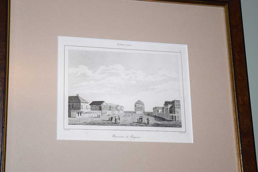 UVA Engraving, C. 1838
