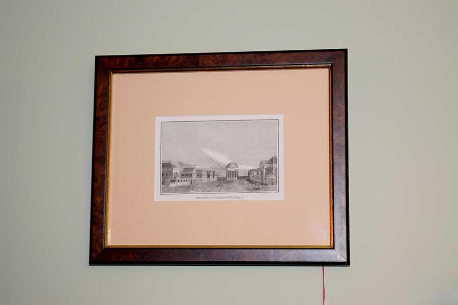UVA Engraving, C. 1845