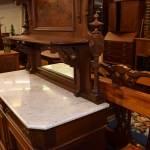 Victorian Marble Top Sideboard